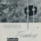 Cortebert Watch Company Switzerland 1960 Swiss Ad Suisse Horlogerie Advert
