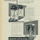 1954 Jaeger-LeCoultre Clock Company Vintage 1954 Swiss Ad Suisse Advert Switzerland Horology