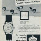 1960 Sandoz Watch Company Switzerland Vintage 1960 Swiss Ad Suisse Advert Horology
