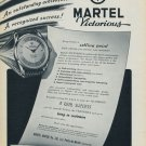 Martel Watch Company Ponts-de-Martel Switzerland 1956 Swiss Ad Suisse Advert Horlogerie