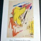 Willem de Kooning 2002 Art Exhibition Ad Advert Paul Thiebaud Gallery