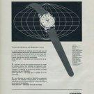 Enicar Watch Company Vintage 1960 Swiss Ad Suisse Advert Horlogerie Horology