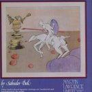 Salvador Dali The Quest Vintage 1982 Art Ad Advert Advertisement