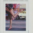 Milichev Ciao Roma Vintage 1982 Art Exhibition Ad