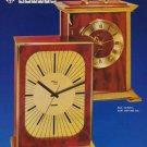 1974 Imhof Clock Company Switzerland Arthur Imhof SA Vintage 1974 Swiss Ad Suisse Advert