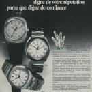 Girard-Perregaux Watch Company GP Quartz Vintage 1974 Swiss Ad Suisse Advert