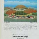Ivan Rabuzin The Vineyards Vintage 1981 Art Ad Advertisement