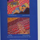Elayne Laporta The Promised Land Red Sea Vintage 1981 Art Ad Advertisement