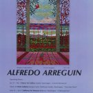Alfredo Arreguin Window of Make Believe Vintage 1981 Art Exhibition Ad