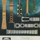 Unidor Company Pforzheim Germany Vintage 1974 Swiss Ad Advert Horlogerie