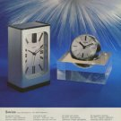 1974 Swiza Clock Company Louis Schwab S.A. Vintage 1974 Swiss Ad Suisse Advert Switzerland
