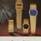 Bueche-Girod Watch Company Switzerland Vintage 1974 Swiss Ad Suisse Advert
