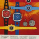 BFG Watch Company Baumgartner Freres SA Vintage 1974 Swiss Ad Suisse Advert