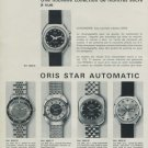 1970 Oris Watch Company Switzerland Vintage 1970 Swiss Ad Suisse Advert Horology