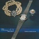 1977 Merusa Watch Company Bienne Switzerland Vintage 1977 Swiss Ad Suisse Advert