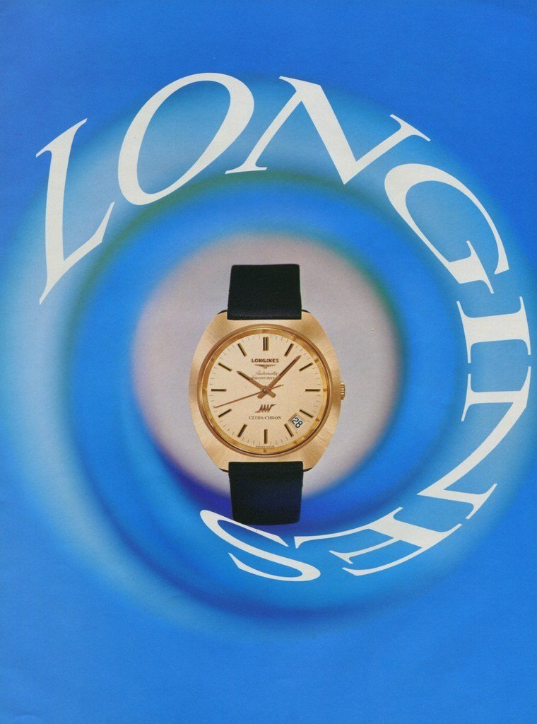 Longines Watch Company Switzerland Vintage 1971 Swiss Ad Suisse Advert Horology