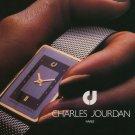 Charles Jourdan Watch Company Paris Vintage 1976 Swiss Ad Suisse Advert Horology