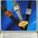 Ronda Watch Company Lausen Switzerland Vintage 1977 Swiss Ad Suisse Advert
