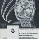 Felca Watch Company Skymaster Advert Vintage 1968 Swiss Ad Suisse Advert Titoni