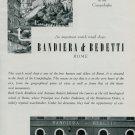 1950 Bandiera & Bedetti Watch Shop Rome Vintage 1950 Swiss Magazine Article Horology Horlogerie