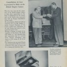 1954 Omega Watch Company Duke of Edinburgh Vintage 1954 Swiss Ad Suisse Advert Horology
