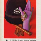 1969 Sandoz of Switzerland Watch Company H. Sandoz & Co. Vintage 1969 Swiss Ad Advert