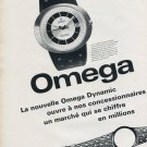 1969 Omega Watch Company Omega Dynamic Advert Vintage 1969 Swiss Ad Suisse Advert Horlogerie