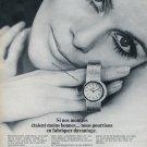 Ebel Watch Company Ebel SA Switzerland Vintage 1969 Swiss Ad Suisse Advert