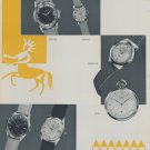 1956 Foire de Bale Swiss Watch Fair Basle Switzerland Swiss Magazine Clipping