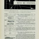 1955-1956 Brevets Suisses Swiss Horology Patents Inventions Horlogerie Article