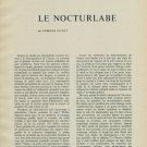1956 Le Nocturlabe by Edmond Guyot Horology Vintage 1956 Swiss Magazine Article Horlogerie