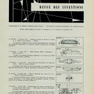 Brevets Suisses 1955 Swiss Horology Patents Horlogerie 1956 Magazine Article