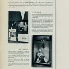 Stands de Bale Vintage 1956 Swiss Watch Fair Swiss Magazine Clipping Horology