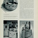 1956 Swiss Magazine Article Horology Nouvelles Techniques d'Usinage L'Etincelage