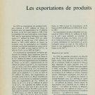 Les Exportations de Produits Horlogers en 1955 Vintage Swiss Magazine Article