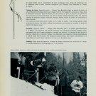 1956 Cortina Winter Olympics Omega Watch Company Vintage 1956 Swiss Magazine Article