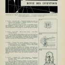 Revue Swiss Horology Patents Inventions 1959 Revue Brevets Suisse l'Horlogerie