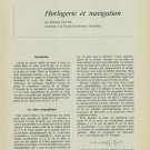 1959 Horlogerie et Navigation by E. Guyot Vintage 1959 Swiss Magazine Article Horology