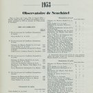 1953 Chronometer Results Neuchatel & Geneva Observatories Swiss Magazine Article Horology
