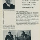 F. Witschi Company Vintage 1954 25th Anniversary Swiss Magazine Article Horology