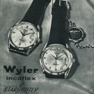 1965 Wyler Watch Company Wyler Starfighter Advert Vintage 1965 Swiss Ad Suisse Advert Horlogerie