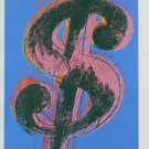 Andy Warhol Dollar Sign Art Ad (1981) (v2)