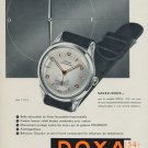 1954 Doxa Watch Company Doxa S.A. Switzerland Vintage 1954 Swiss Ad Suisse Advert Horlogerie