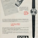 1964 Doxa Watch Company Doxa Headline Advert Vintage 1964 Swiss Ad Suisse Advert Horlogerie