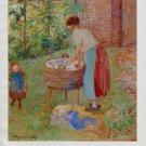 Camille Pissarro Blanchisseuse a Eragny Art Ad