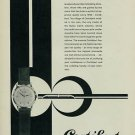 Cortebert Watch Company The Ultimate in Precision 1957 Swiss Ad Suisse Advert
