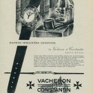 1954 Vacheron Constantin Watch Company Geneve Switzerland Vintage 1954 Swiss Ad Suisse Advert