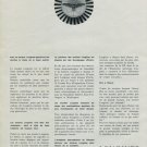 Longines Watch Company Switzerland 1965 Swiss Ad Suisse Advert Horlogerie