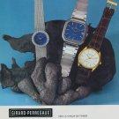 Girard-Perregaux Watch Company Vintage 1977 Swiss Ad Suisse Advert Horlogerie