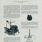 Nouveaux Outils a la Foire de l'Horlogerie a Bale 1956 Swiss Magazine Article